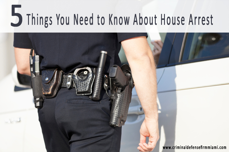 5 things you need to know about house arrest lawyers for Things you need for a home