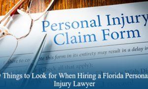Florida Personal Injury Lawyer