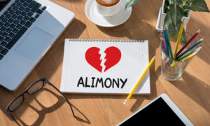 Alimony Awarded in a Divorce