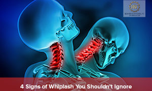 4 Signs of Whiplash You Shouldn't Ignore